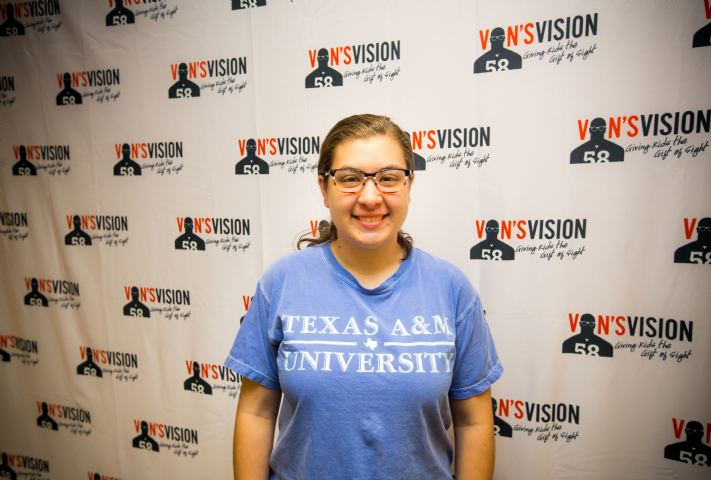 Von's Vision Day at Texas A&M University